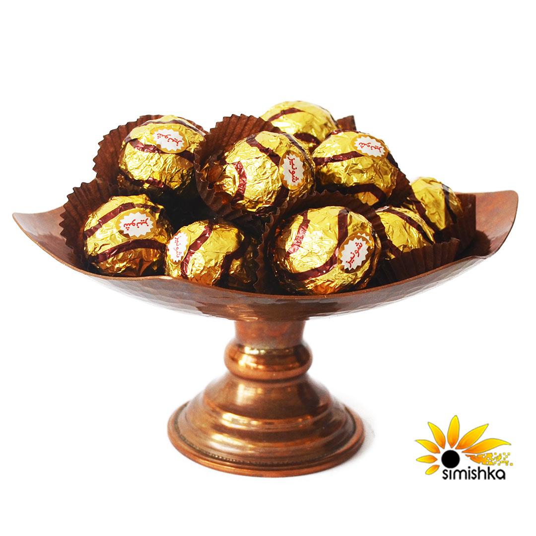 شکلات مغزدار فندقی طلایی پرنس شونیز