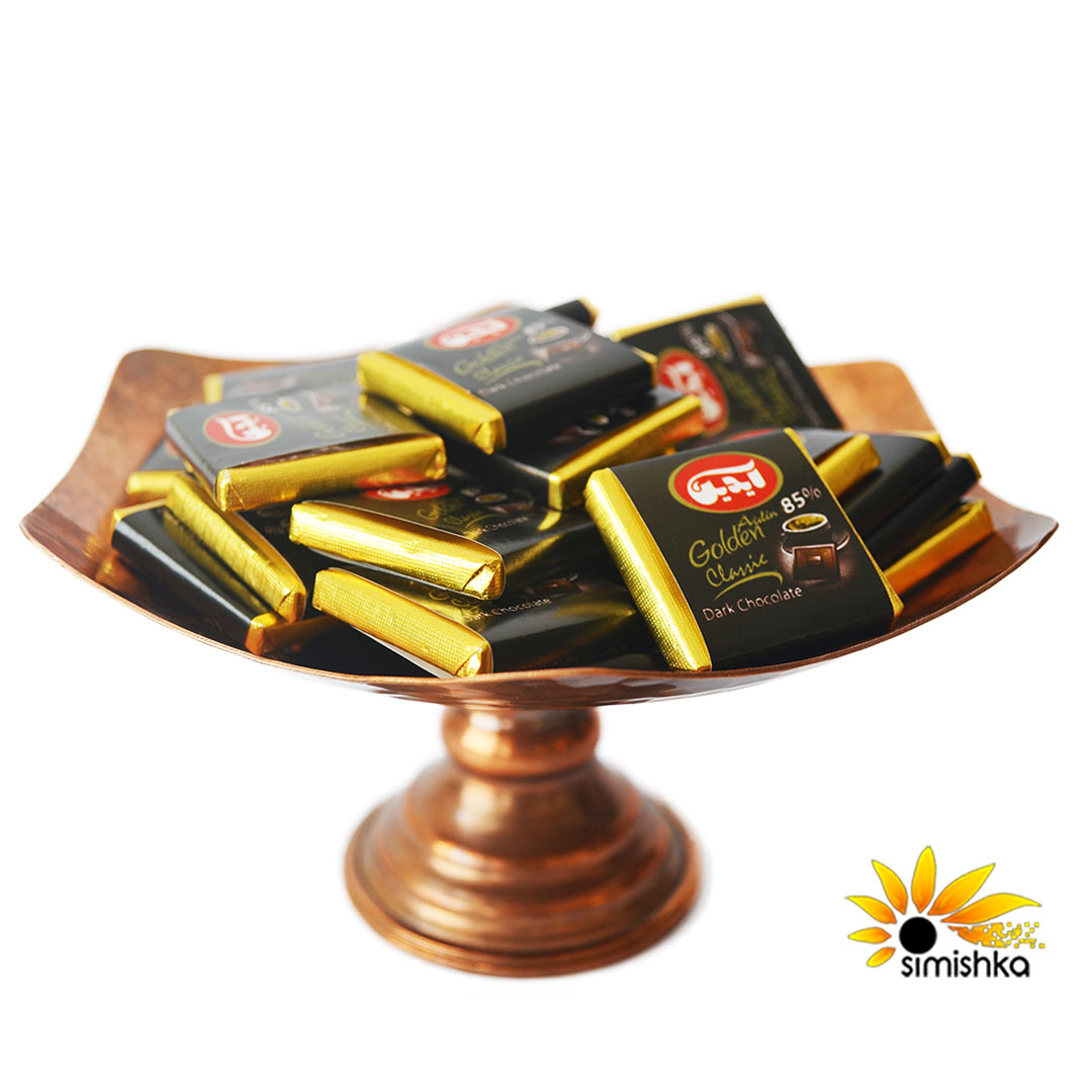 شکلات تلخ فله 85% آیدین