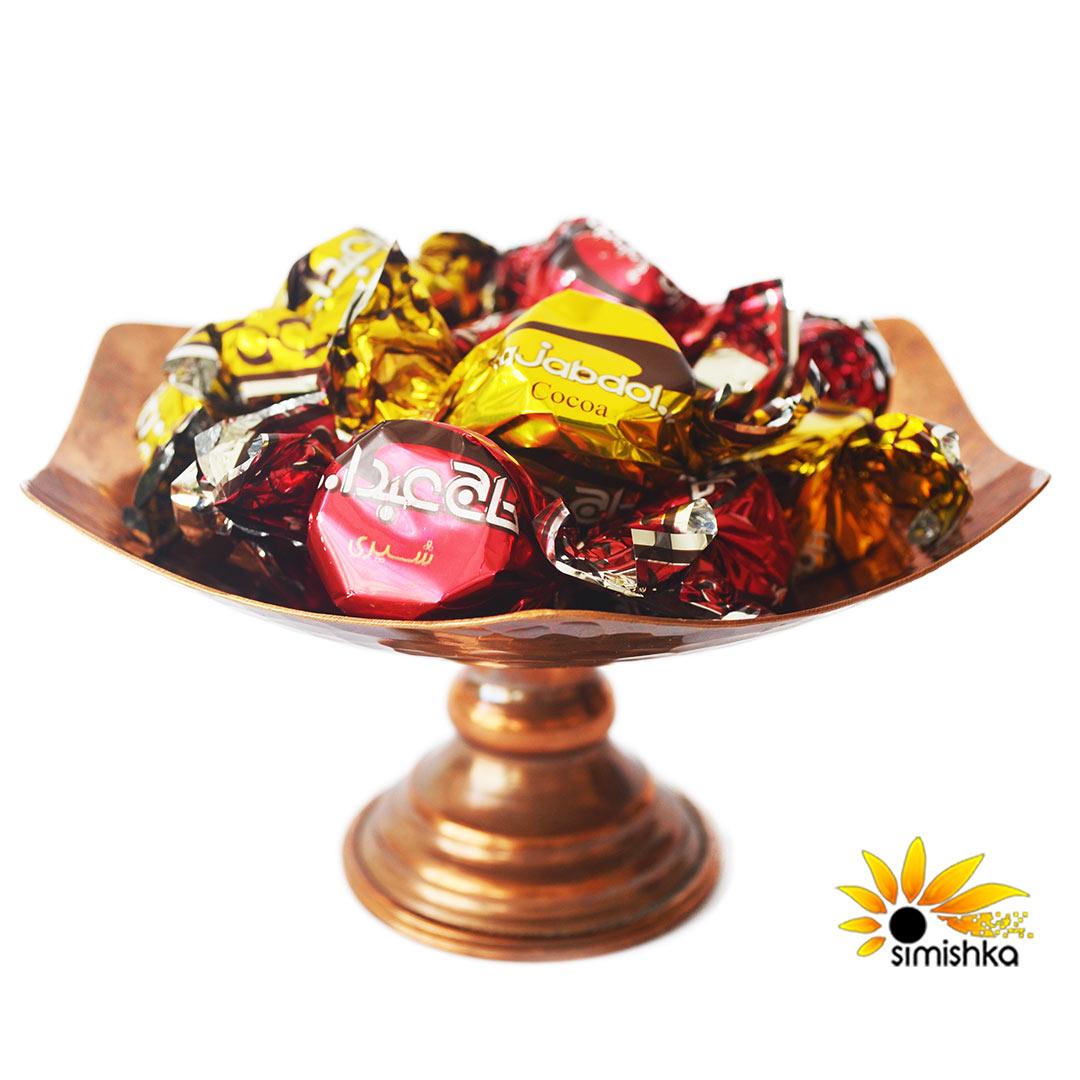 پشمک شکلاتی کاکائویی حاج عبدالله