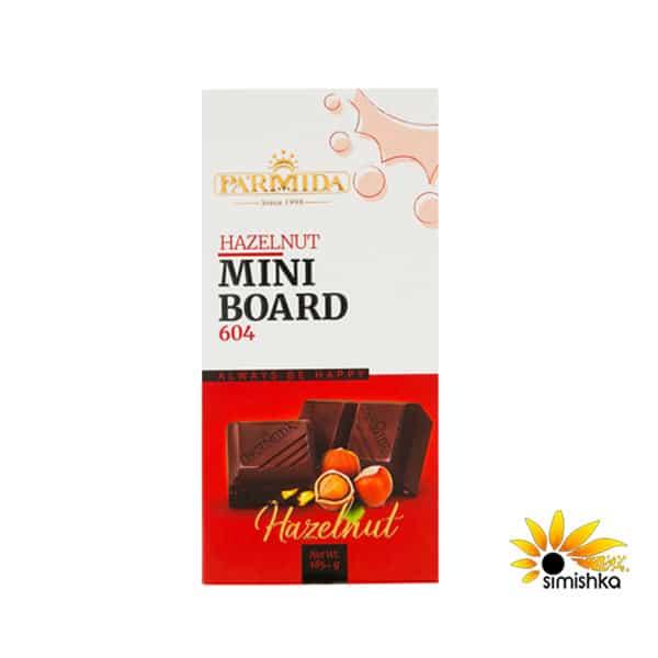 شکلات تخته ای فندقی پارمیدا 604